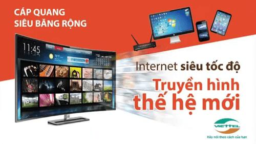 combo internet và truyền hình viettel 2021