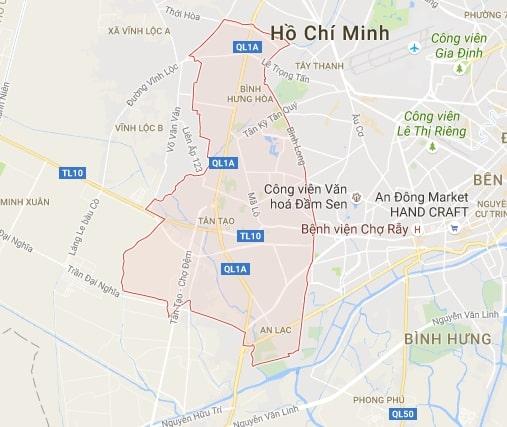 Viettel quận Bình Tân