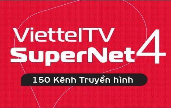 gói cước combo supernet4 viettel tv