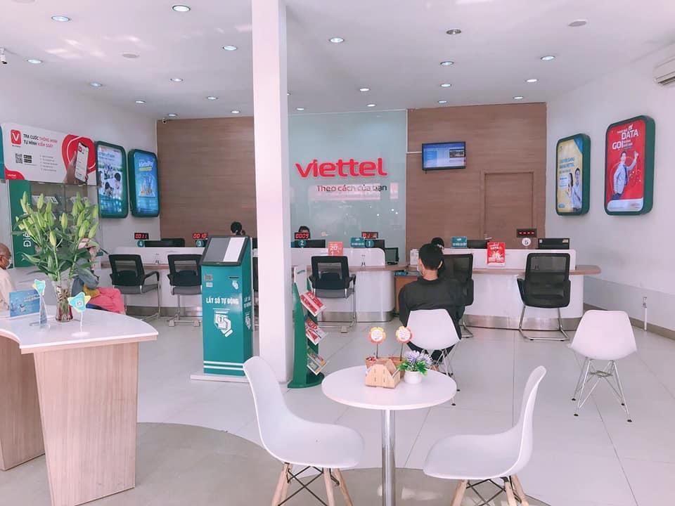 danh sách cửa hàng Viettel huyện Bình Tân