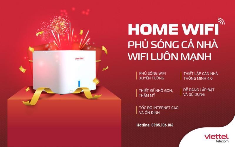 lắp đặt mạng internet viettel gói home wifi