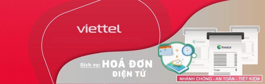 Dịch vụ hoá đơn điện tử Viettel