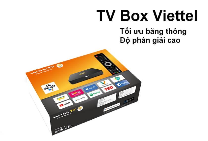 Box Viettel android 10