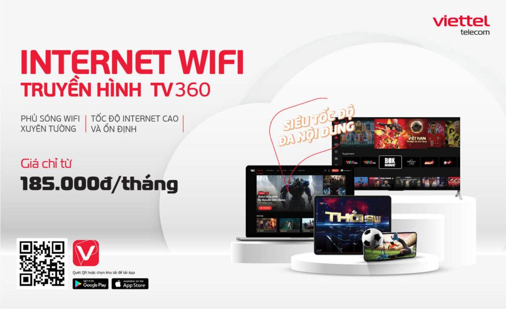Khuyến mãi lắp internet Viettel