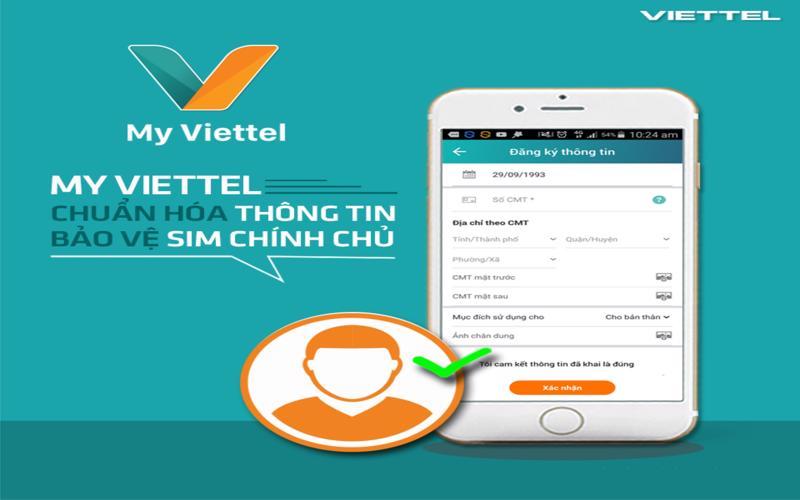 Đăng ký sim Viettel chính chủ tại nhà