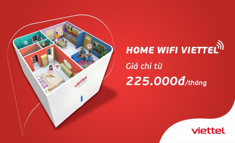 Gói cước home wifi Viettel giá rẻ, phủ sóng rộng, xuyên tường.