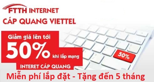 Khuyến mãi lắp internet viettel Cần Thơ