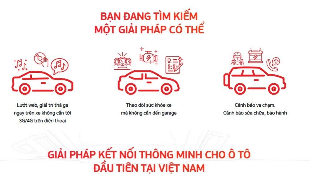 Vcar Viettel giải pháp thông minh cho xe ô tô